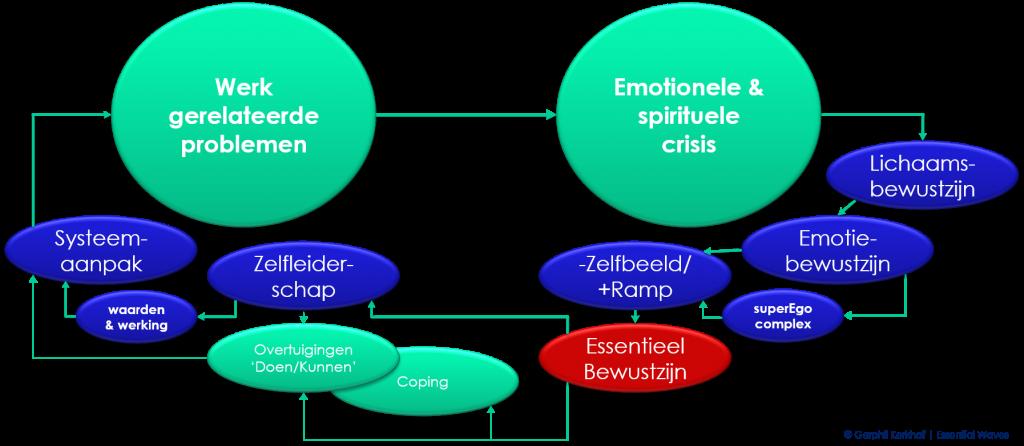 naar zelfbewustzijn in drie aspecten: lichaams-, emotie- en Essentieel bewustzijn